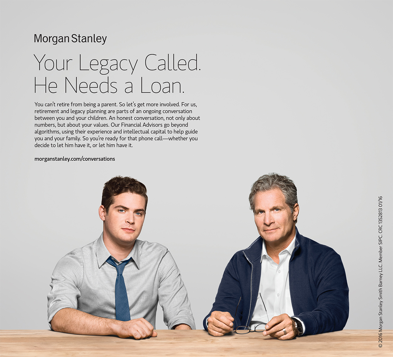 Ads: Morgan Stanley, Legacy