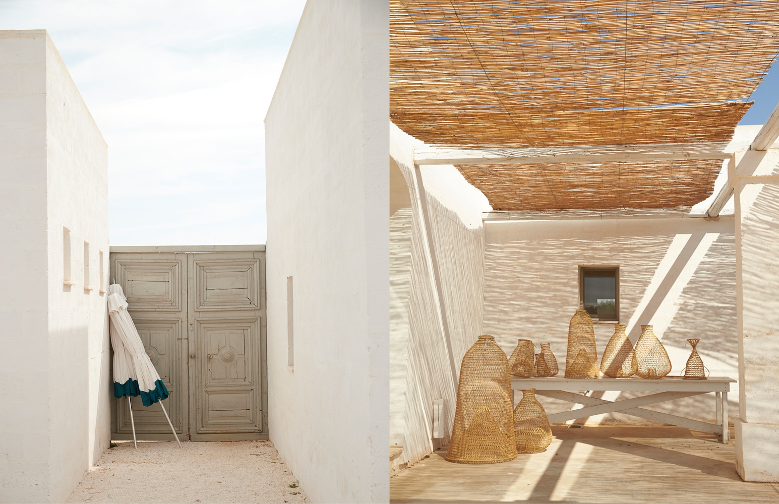 Sunbrella Italy: Doors and Baskets