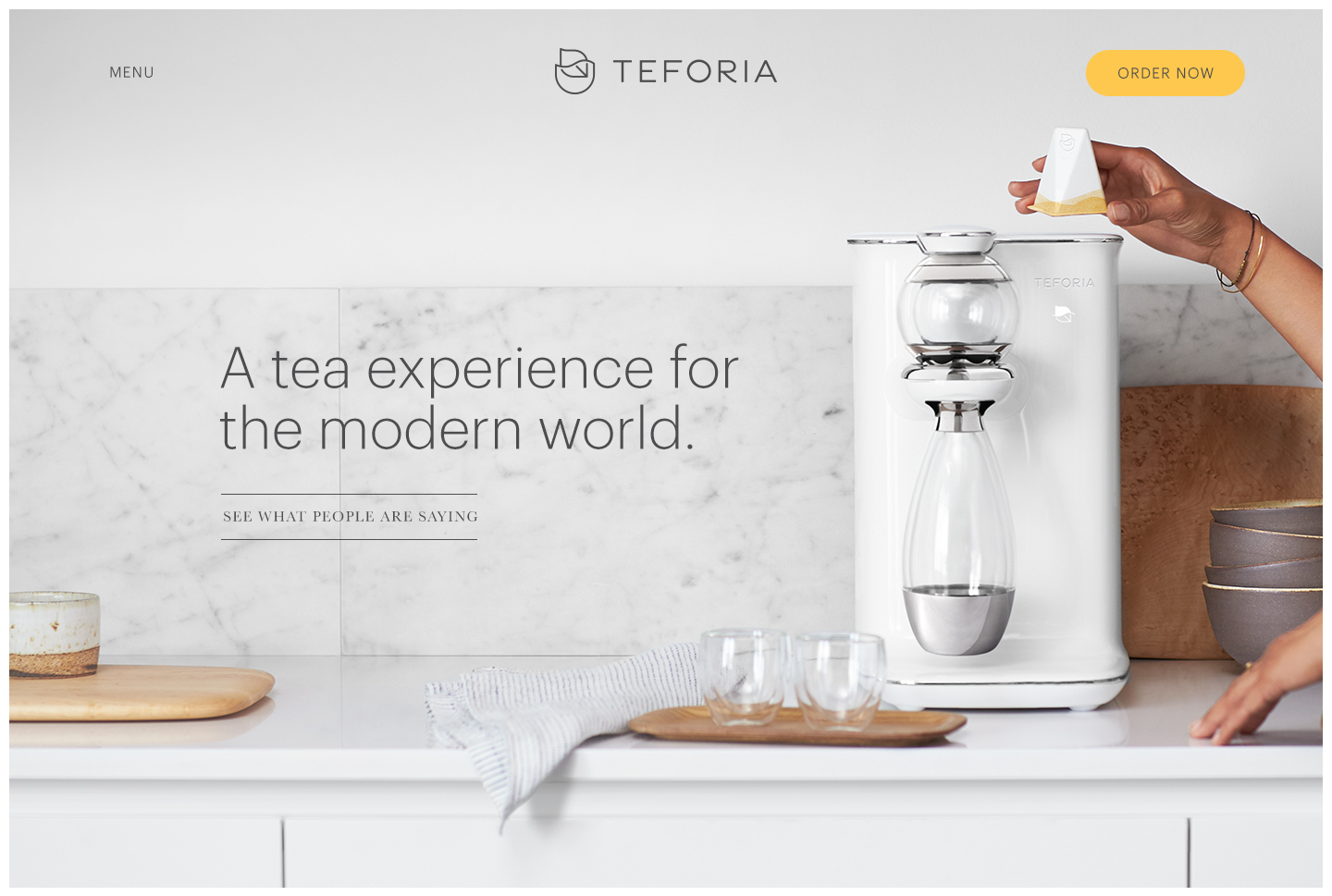 Ads: Teforia, Art and Science of Tea