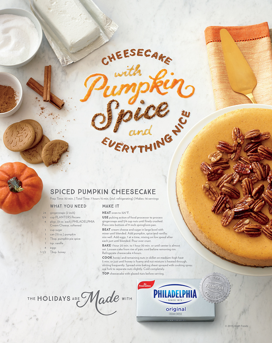 Philadelphia Cream Cheese: Pumpkin Spice