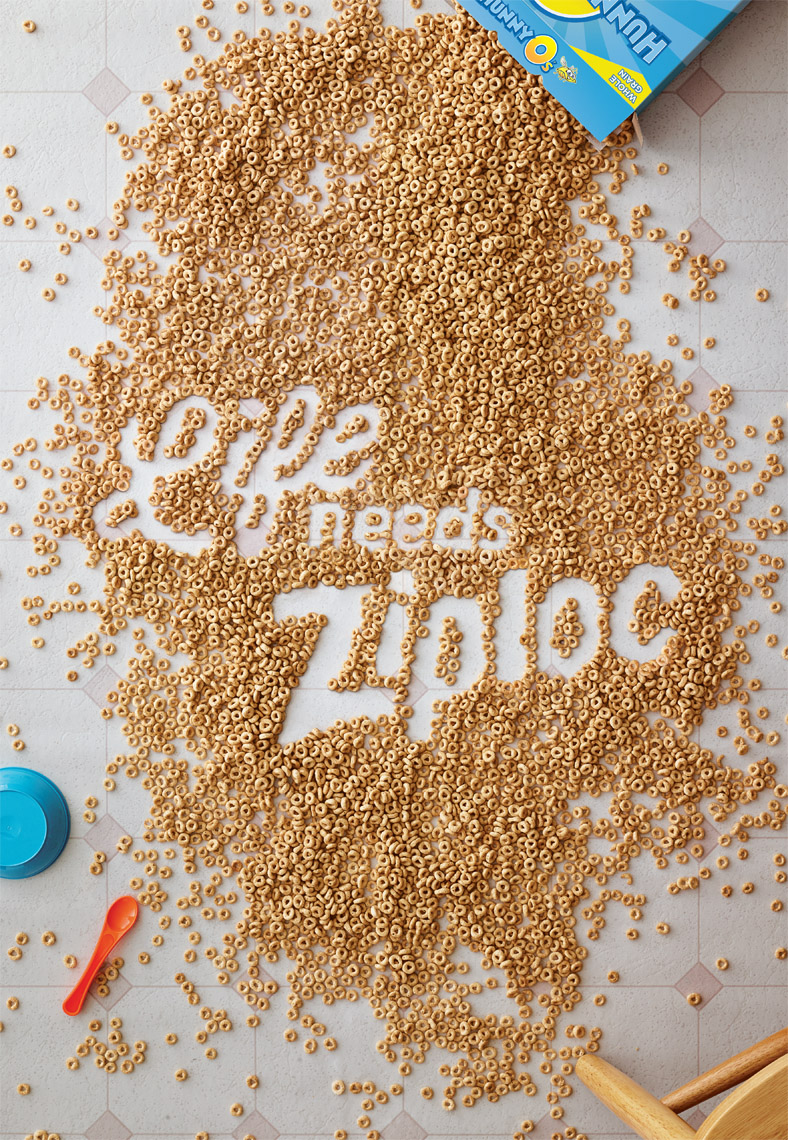 Life Needs Ziploc: Cereal